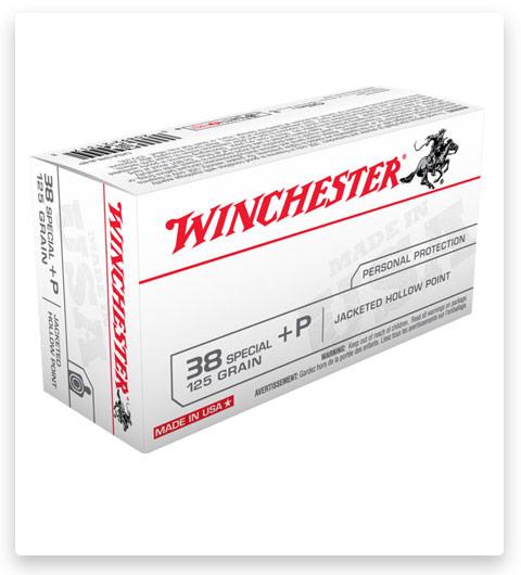 Winchester USA HANDGUN 38 Special Ammo 125 grain