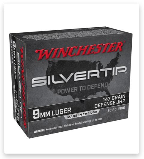 Winchester Silvertip 9mm Luger 147 grain