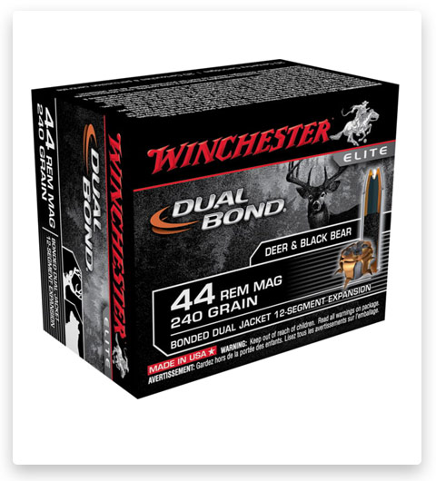Winchester DUAL BOND HANDGUN 44 Magnum Ammo 240 grain