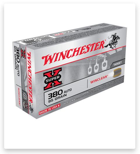 Winchester SUPER-X HANDGUN 380 ACP Ammo 95 grain