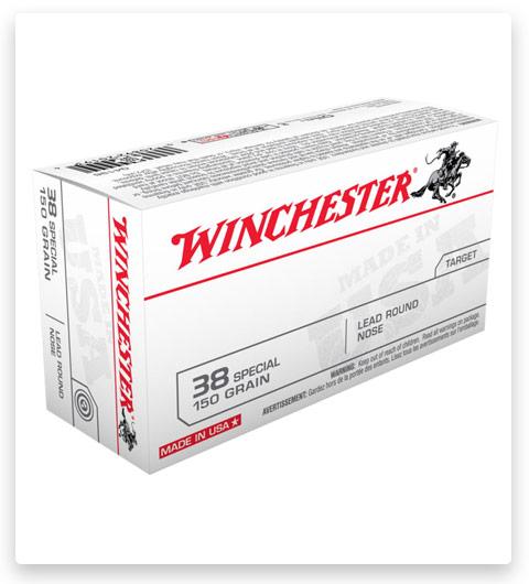 Winchester USA HANDGUN 38 Special Ammo 150 grain