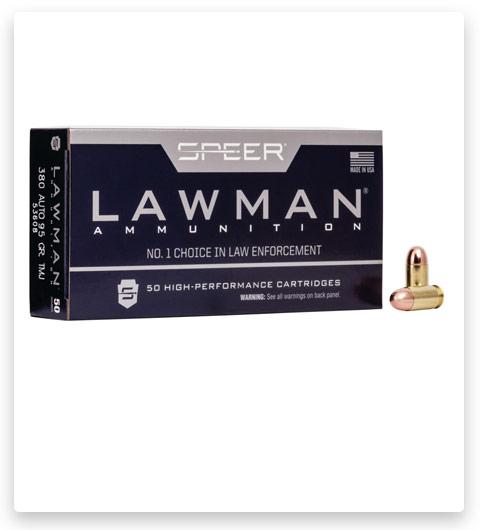 Speer Lawman Handgun Training 380 ACP Ammo 95 grain