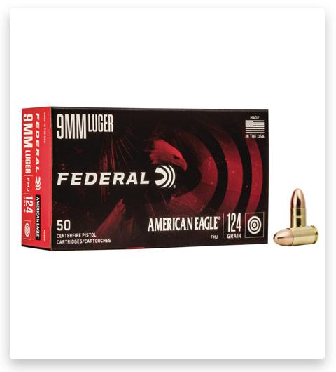 Federal Premium Centerfire Handgun Ammunition 9mm Luger 124 Grain