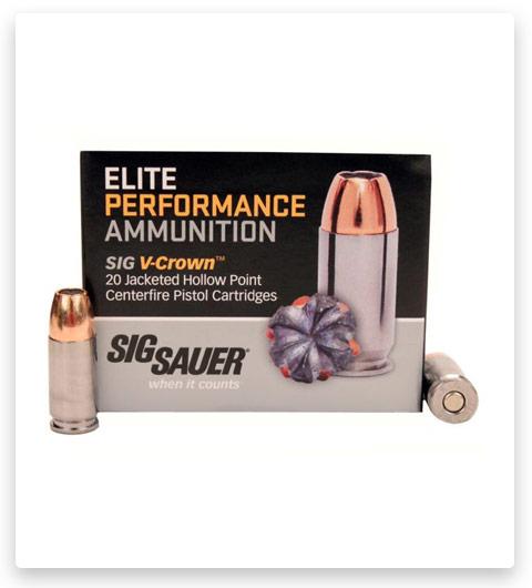 Sig Sauer V-Crown Ammo 9mm Luger 147 Grain