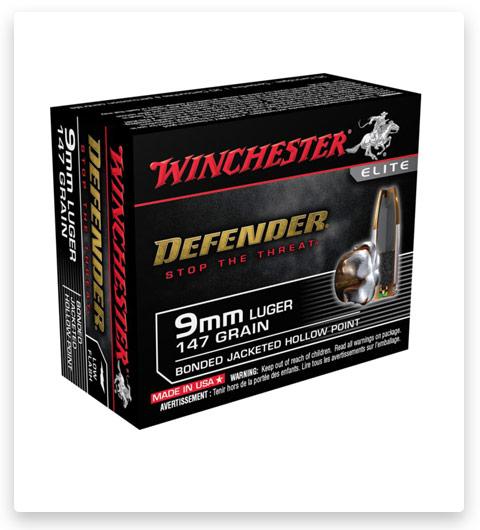 Winchester DEFENDER HANDGUN 9mm Luger 147 Grain