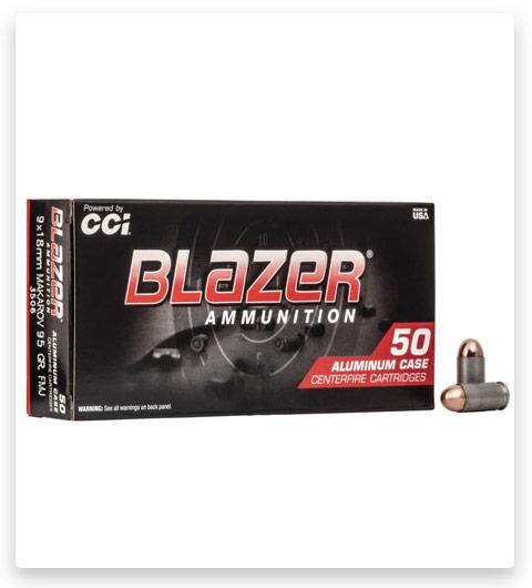 CCI Ammunition Blazer Aluminum 9x18mm Makarov