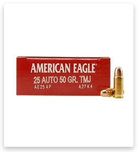 Federal Premium Centerfire Handgun Ammunition .25 ACP 50 grain