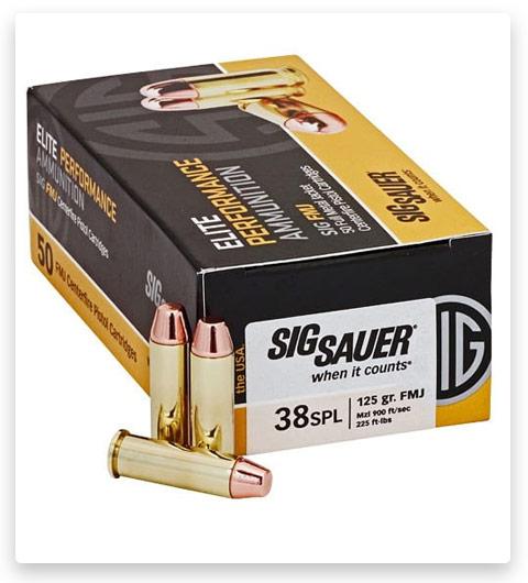 Sig Sauer Elite Performance 38 Special Ammo 124 grain