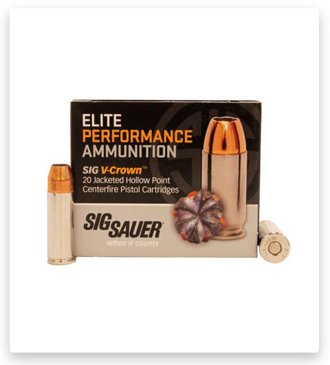 Sig Sauer V-Crown 44 Special Ammo 200 grain
