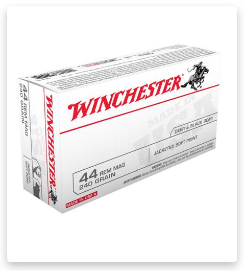 Winchester USA HANDGUN 44 Magnum Ammo 240 grain