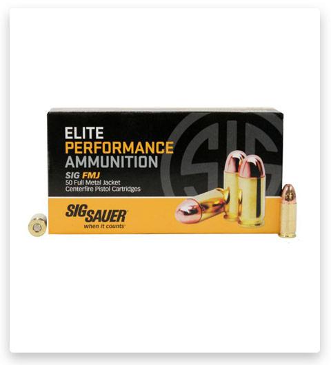 Sig Sauer Elite Ball 9mm Luger 147 Grain
