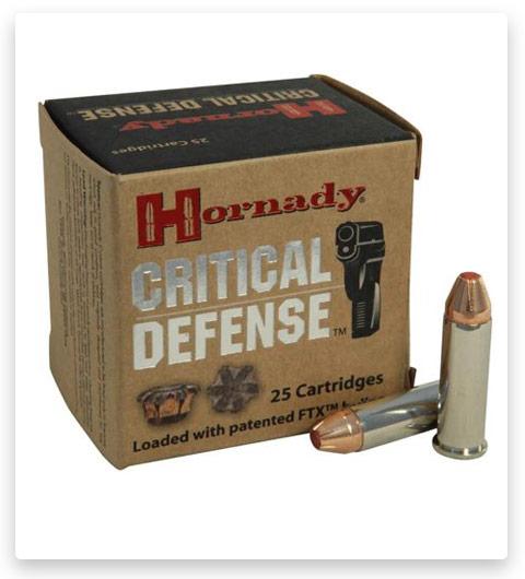 Hornady Critical Defense 38 Special Ammo +P 110 Grain