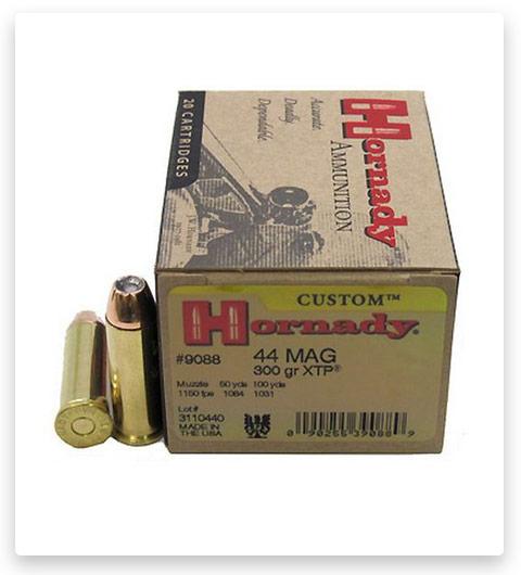 Hornady Custom 44 Magnum Ammo 300 Grain