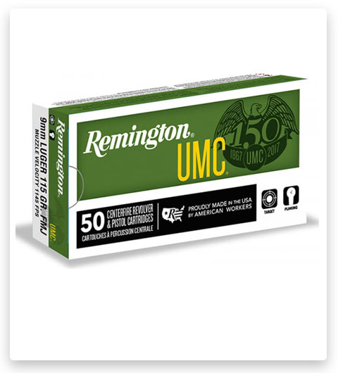 Remington UMC Handgun 380 ACP Ammo 95 Grain
