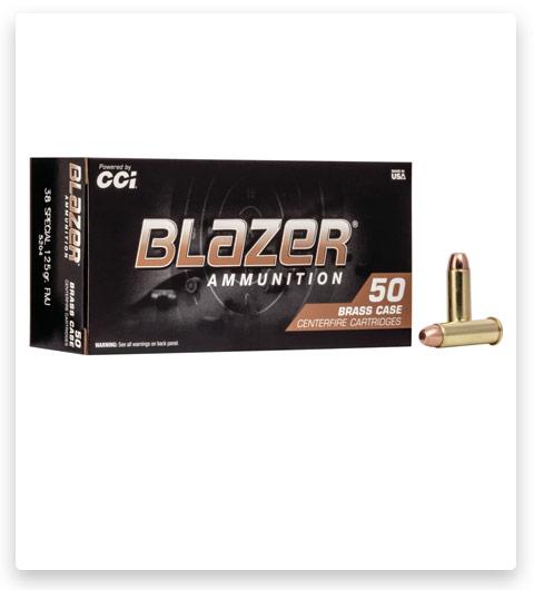 CCI Blazer Brass 38 Special Ammo 125 grain