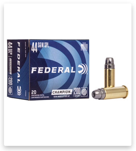 Federal Premium Centerfire Handgun 44 Special Ammo 200 grain