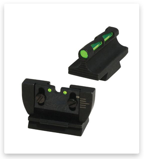 Hiviz LITEWAVE Interchangeable Front and Rear Sight Combo for Ruger 10/22