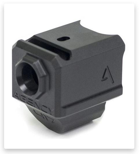 Agency Arms 417 Single Port Gen 5 9mm Compensator