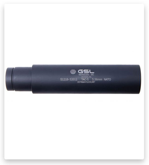 GSL TECHNOLOGY 5.56 SUPPRESSOR TAC-5