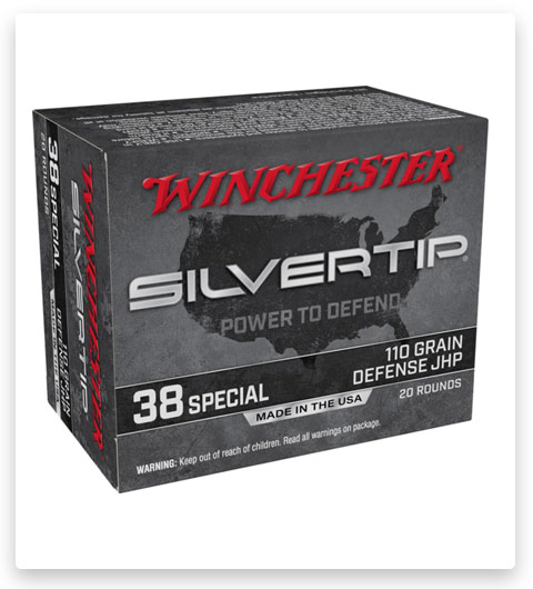 Winchester SUPER-X HANDGUN 38 Special Ammo 110 grain