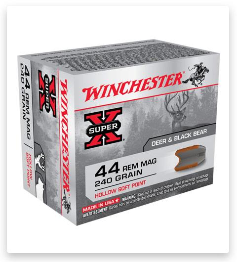 Winchester SUPER-X HANDGUN 44 Magnum Ammo 240 grain