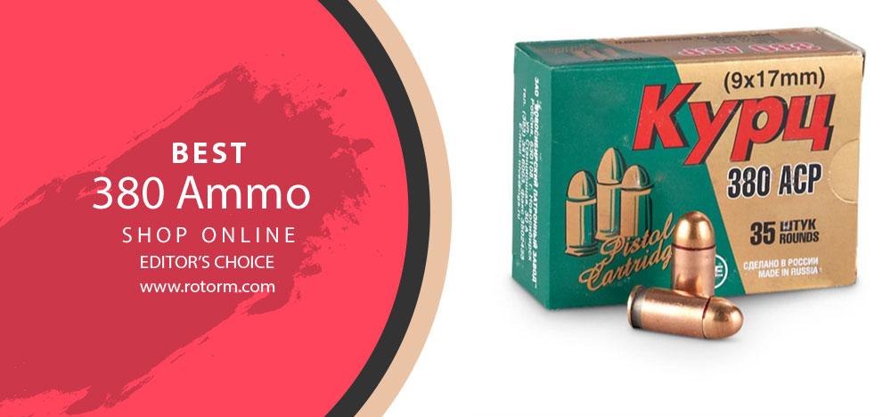 Best 380 Ammo - Editor's Choice