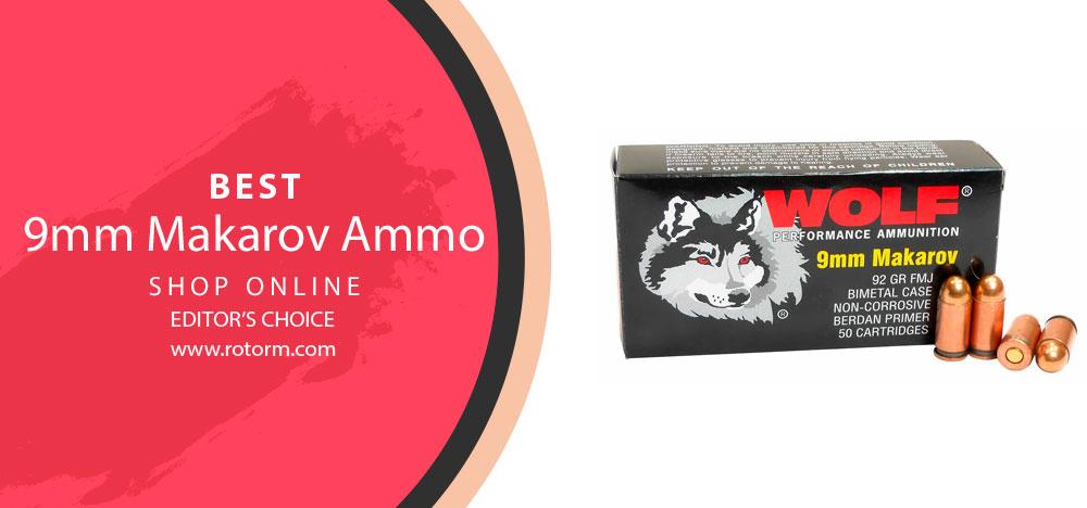 Best 9mm Makarov Ammo - Editor's Choice