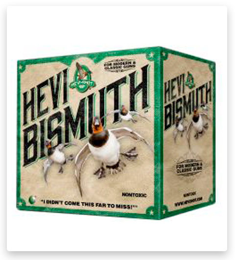 HEVI-Shot HEVI-BISMUTH WATERFOWL 20 Gauge Ammo