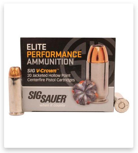 Sig Sauer V-Crown 45 Colt Ammo 230 grain