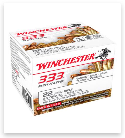 Winchester 333 22 Long Rifle Ammo 36 grain