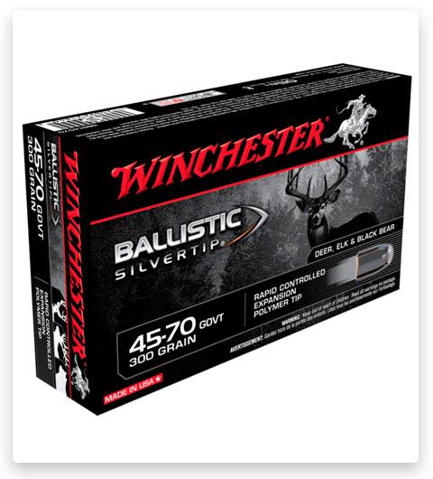 Winchester BALLISTIC SILVERTIP 45-70 Government Ammo 300 grain