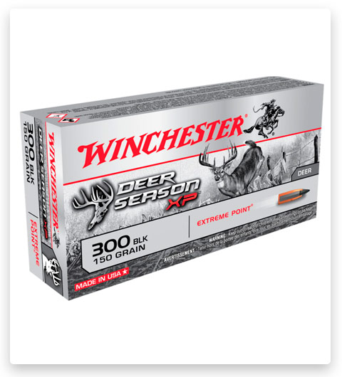 Winchester DEER SEASON XP 300 AAC Blackout Ammo 150 grain