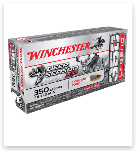 Winchester DEER SEASON XP 350 Legend Ammo 150 grain