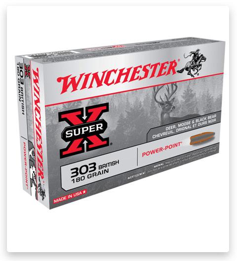 Winchester SUPER-X RIFLE 303 British Ammo 180 grain