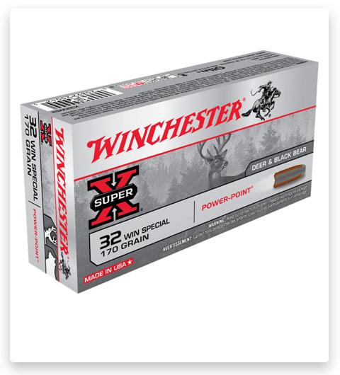 Winchester SUPER-X RIFLE 32 Winchester Special Ammo 170 grain