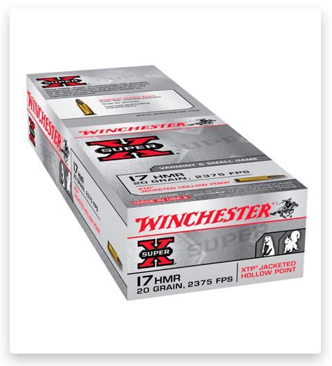Winchester SUPER-X RIMFIRE 17 Hornady Magnum Rimfire Ammo 20 grain