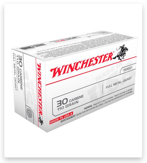 Winchester USA RIFLE 30 Carbine Ammo 110 grain