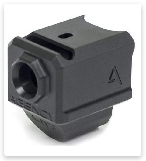 Agency Arms 417 Single Port Gen 5 Barrel Glock Compensators