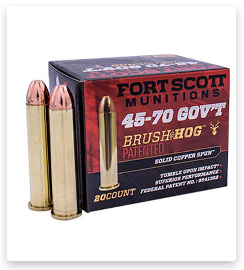 Fort Scott Munitions 45-70 GOVERNMENT Ammo 300 Grain