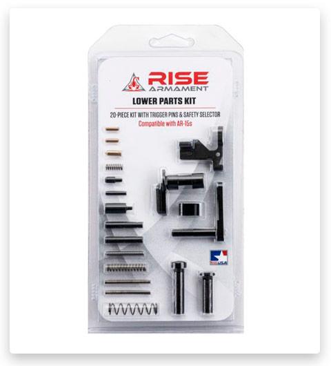 RISE Armament Lower Parts Kit Ar-15 Minus Trigger 12003