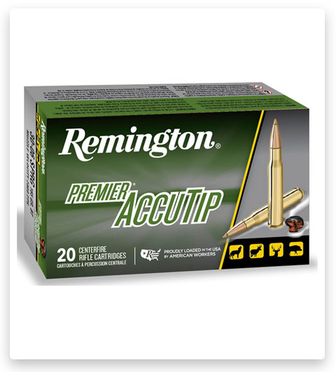 Remington Premier Accutip 22-250 Remington Ammo 50 Grain