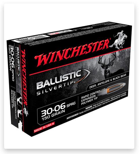 Winchester BALLISTIC SILVERTIP 30-06 Springfield Ammo 150 grain