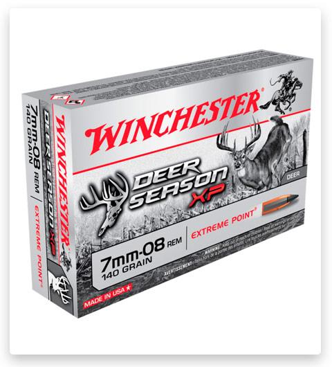 Winchester DEER SEASON XP 7mm-08 Remington Ammo 140 grain