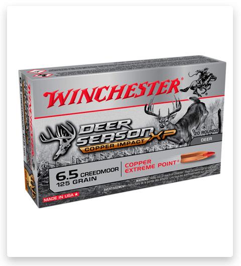 Winchester DEER SEASON XP-COPPER IMPACT 6.5 Creedmoor Ammo 125 grain