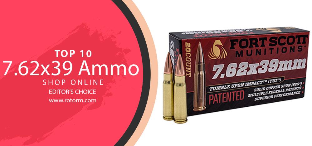 Best 7.62x39 Ammo - Editor's Choice
