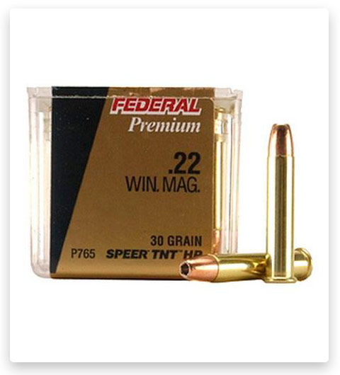Federal Premium V Shok 22 Winchester Magnum Rimfire Ammo 30 grain