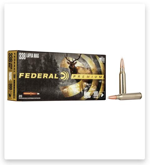 Federal Premium VITAL-SHOK 338 Lapua Magnum Ammo 300 grain