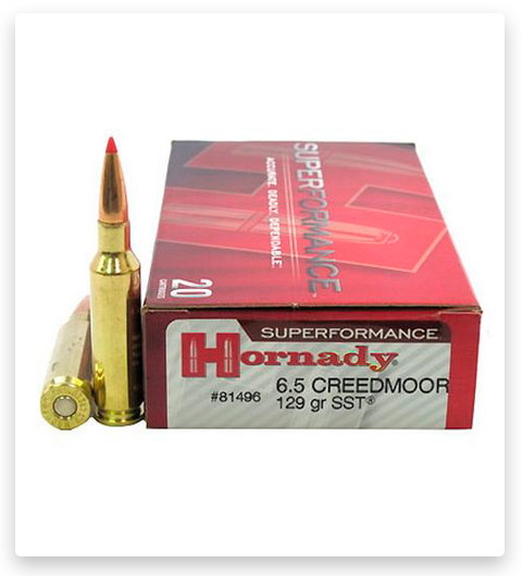 Hornady Superformance 6.5mm Creedmoor Ammo 129 Grain