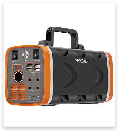 SPECSTAR 500W 78000mAh 288WH Portable Solar Generator