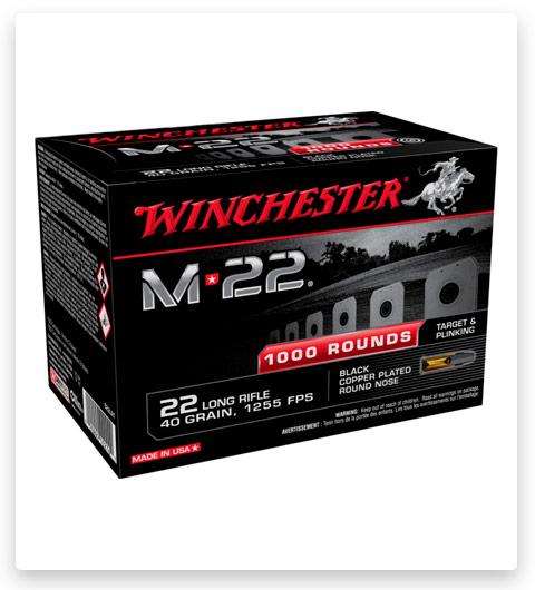 Winchester M-22 22 Long Rifle Ammo 40 grain